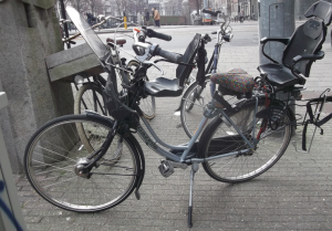 A bicycle made for three