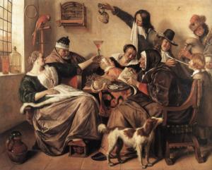 A vrolijk Dutch family