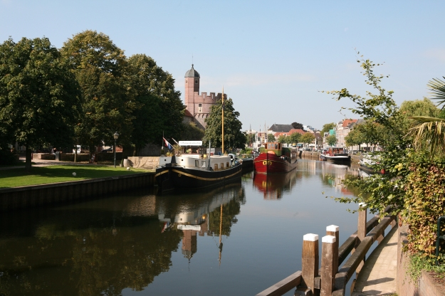 Zwolle has canals too