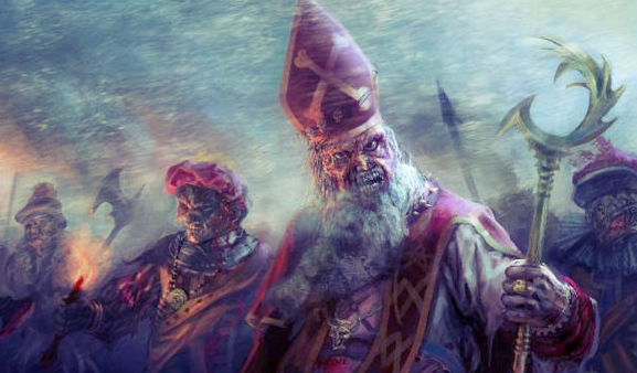 Sint and Piet are the stars of a horror film by Dick Maas