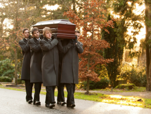 Your pallbearers may well be students - it's a popular student job