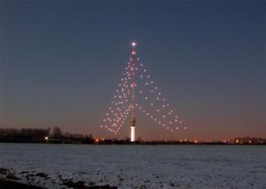 It is also the tallest Dutch Christmas tree