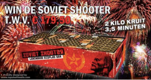 soviet shooter firework