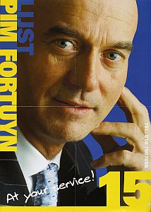 Pim Fortuyn election poster