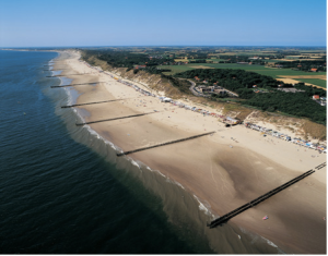 The Netherlands has nearly 2,000 km of beach