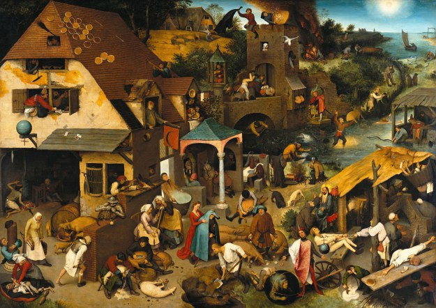 How many Netherlandish proverbs can you spot?