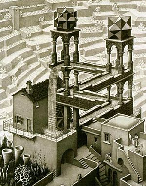 7. Escher - Waterfall