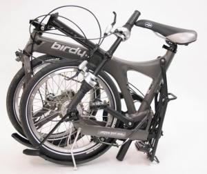 The folding bike may even have hipster appeal