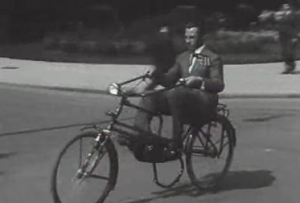 The recumbent bike has been around since at least 1934