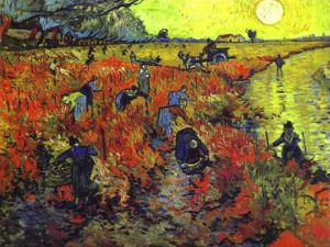 the-red-vineyard-van gogh